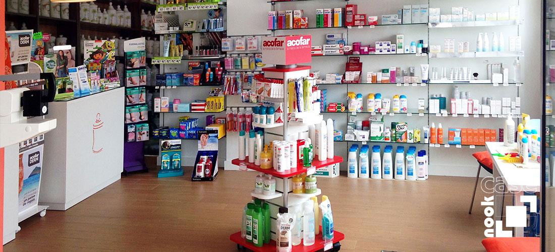 Muebles 100% personalizados para clínicas y farmacias